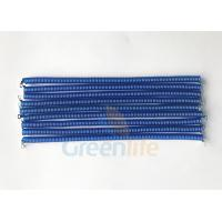 Cheap Light Weight Coiled Security Tethers PU TPU Material With Screw Terminal Connnectors for sale