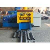 Cheap Type 310 Gear Driven Highway Guardrail Roll Forming Machine 37kw Reducer Power And GCr15 Roller for sale