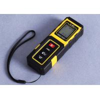 Cheap Yellow Small Laser Distance Meter Accuracy 40m Handheld Laser Distance Measurer for sale