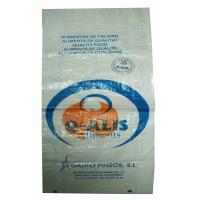 Quality Multi - Functional BOPP Laminated PP Woven Bags , Woven Polypropylene Feed Bags wholesale