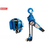Cheap Blue 1 / 2  Ton Manual Chain Lever Hoist / Heavy Duty Chain Come Along Lift Height 3m for sale