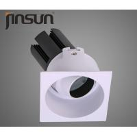 Cheap Square Commercial LED Recessed Downlights For Conference / Meeting Rooms for sale