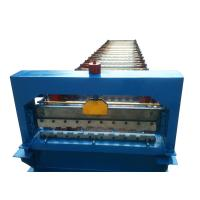 Cheap 760 3kw Roller Shutter Door Roll Forming Machine With 17 Rows Of Rollers and 3ke hydraulic power for sale