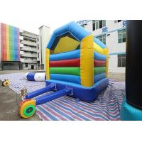 Cheap Colorful Simple Inflatable Bounce House / Kids Bouncy Castle for sale