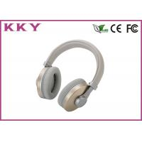 OEM / ODM Accept Portable Bluetooth Earphones With Stainless Steel Shell