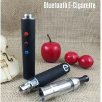 Cheap 510 Thread Bluetooth Electronic Cigs Huge Vapor Atomizer Silicone Holder for sale