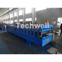 7.5KW Power PU Panel Roof Cold Roll Forming Machine With 13-20 Forming Stations Manufactures