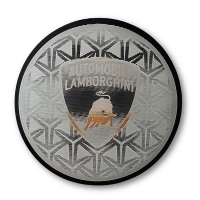 Cheap Iron On Design TPU Badges Sportswear Patches With Embossed 3D Soccer Football Logo for sale