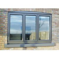 Buy cheap Morden Aluminium Tilt And Turn Windows With Timbar Surface Treament from wholesalers