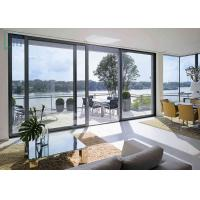 Customized Aluminium Sliding Doors Double Tempered Glazing for Balcony