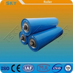 Cheap Blue Customized Size DIN Conveyor Idler Roller for sale
