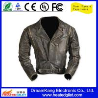 Cheap Heated motorcycle leather jacket for sale