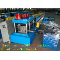 Galvanized Steel Sheet Stud And Track Roll Forming Machine For Vacationlands Manufactures