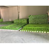Cheap Reinforced PPR Fiberglass Composite Pipe Green Color With Hot Melting Connection for sale