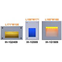 Square Led Mounted Wall Light Recessed 120 Degree Led Stair Lighting
