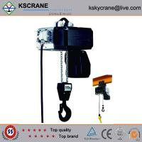 Cheap Attractive and reasonable price Low Clearance Double Speed Electric Chain Hoist for sale