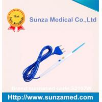 White color Disposable  Hand control electrosurgical Pencil with120mm Blade with 3 Meter cable,S2102W
