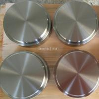 Cheap titanium target,ti-al alloy target for Vacuum PVD,80mm D x 40mm L,Plating rose-goden, rose for sale