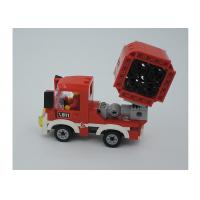 Cheap Children's Toys Building Bricks Mini Fire Fighting Vehicle 3 Deformation 154Pcs for sale
