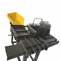 Cheap Electric Button Control 7.5KW Semi Automatic Rag Baler for sale