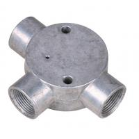"Buy cheap BS Threaded Three Way Junction Box , Weatherproof Metal Conduit Box 1/2"" 3/4"" from wholesalers"
