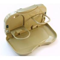 China Multifunction car cup holder Folding Plastic Car Tray Table, car Food tray on sale