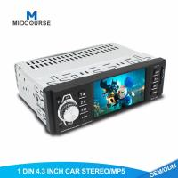 Cheap 4.1 Inch 1 Din Car Stereo TFT LCD Car MP5 Player With Bluetooth OEM  Service for sale