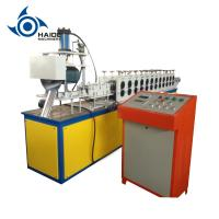 Cheap Hight Speed Hydraulic Shutter Door Roll Forming Machine With 2.5 ton Decoiler And  PLC for sale
