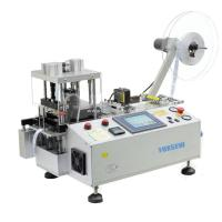 Cheap Automatic Leather Belts Cutting Machine with Hole Punching and Collecting Device FX-150LR for sale
