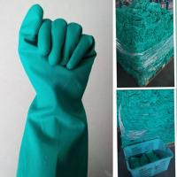 Buy cheap Green Nitrile Gloves-Green Industry Anti-skid ,Anti-Oil Gloves from wholesalers