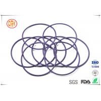 Customized  Purple High Temperature Silicone O Rings  For Auto Parts Manufactures