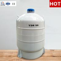 Cheap TIANCHI Liquid Nitrogen Tank 50L Stainless Steel Storage Container Price for sale