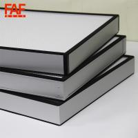 Buy cheap 0.03mm Thickness High Volume HEPA Filter , Mini Pleat HEPA Filter With from wholesalers