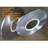 Cheap UNS N02200 Commercially Pure Or Low Alloy Nickel Good Magnetostrictive Property for sale