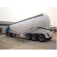 Buy cheap concrete transport semi trailer, Cement Bulk Semi Trailers, bulk powder truck from wholesalers