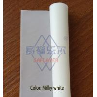 China 0.38mm Milky white color PVB film for laminated glass on sale
