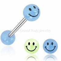 Cheap Tongue Piercing Acrylic Barbell for sale