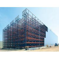 Cheap Rack Supported ASRS Racking System Anti Seismic With PU Foam Board Cladded for sale