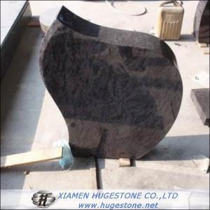 China Super Grey Granite Headstone, Memorial Granite Monuments on sale
