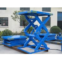 Cheap Stationary Sccisor lift table ,hydraulic and manual operation ,all size color ,capacity for sale