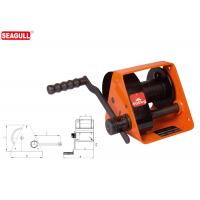 Cheap HWG Type Portable Hand Lifting Winch Heavy Duty With Handle Adjustment for sale