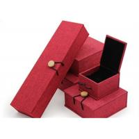 Cheap Luxury Necklace Paper Jewelry Box Offset Printing Durable For Presentation Gift for sale