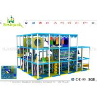 Cheap Indoor Soft Baby Play Centre , Custom Made Indoor Jungle Gym For Toddlers for sale