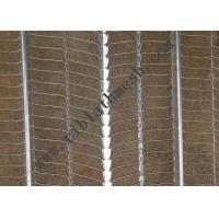 China 7*20mm Hole Galvanized Rib Lath Mesh  For Industrial Building on sale