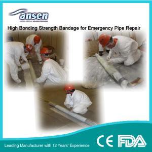 China 4inch Polyurethane Fiberglass Pipe Repair Bandage Emergency Repair Bandage Pipe Repair Kit on sale