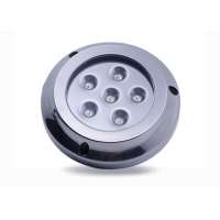 Cheap RGBW 316 Stainless Steel Underwater Marine LED Lights 12V DC 4 Inch for sale