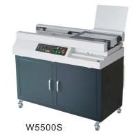 Quality Automatic Glue Soft Cover Book Binding Machine Small Milling Blade Included W5500 for sale