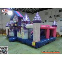 Cheap PVC Multifunctional Giant Inflatable Castle For Baby Jumping Pleasure Park 8 x 4.5 x 4m for sale