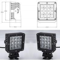 Cheap 80 Watt Vehicle LED Work Lights with Die Casting Aluminum Body IP68 for sale