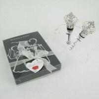 crown shaped wine bottle stopper wedding favors with